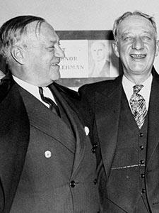 FORMER NEW YORK GOVERNOR AL SMITH AND SENATOR ROBERT F. WAGNER