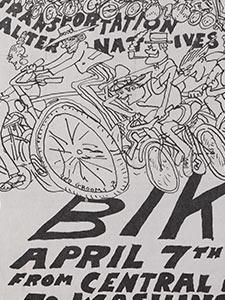 """BIKE-IN"" FLYER"