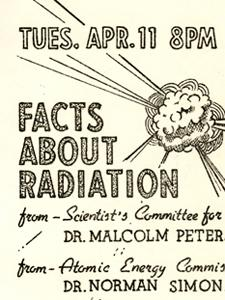 FACTS ABOUT RADIATION FLYER