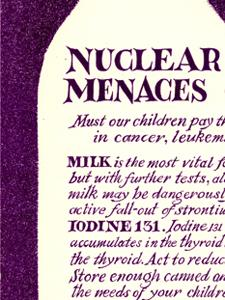 NUCLEAR TESTING MENACES CHILDREN