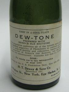 DEW-TONE BOTTLE