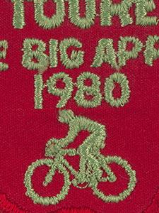 FABRIC PATCHES SUPPORTING AMERICAN YOUTH HOSTEL AND THE NEW YORK BIKE MARATHON