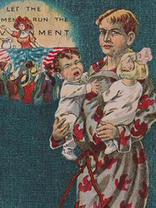 ANTI-SUFFRAGE POSTCARDS