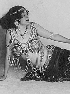Gertrude Hoffman as Salome
