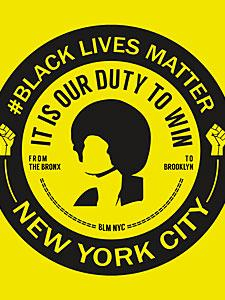 BLM NYC Chapter Logo