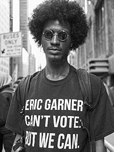 Eric Garner Can't Vote. But We Can