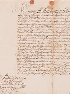 DEED BY WHICH ASSER LEVY PURCHASED PROPERTY FROM JACOB YOUNG